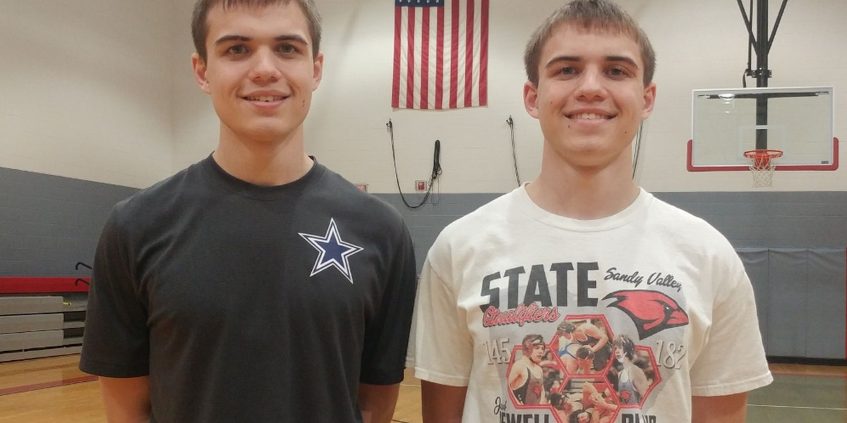 Twin brothers share honor as co-valedictorians at Sandy Valley High School in Magnolia