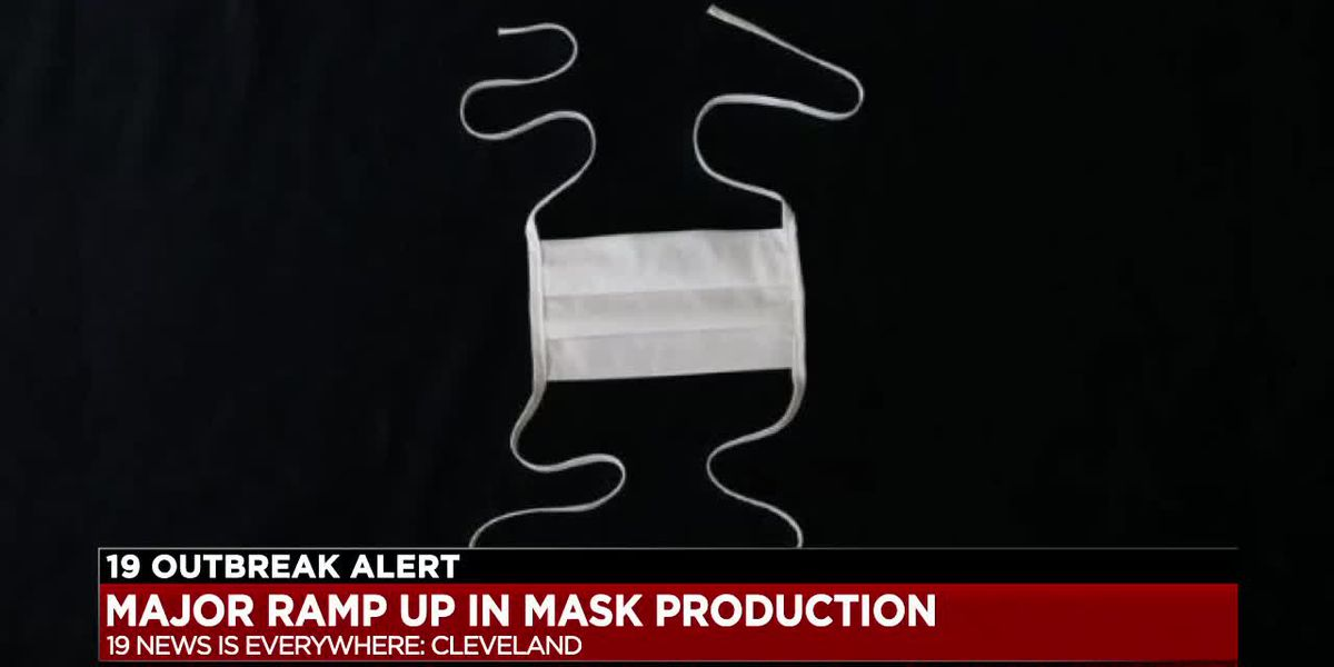 Cleveland company will soon be producing 50,000 masks a day