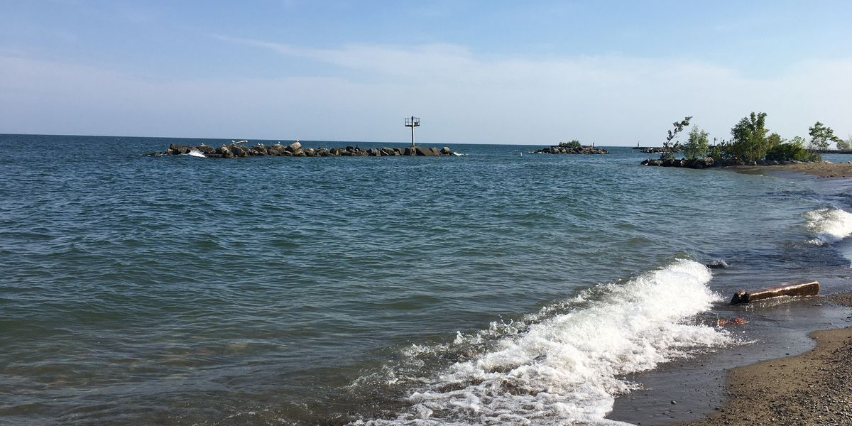 Cleveland woman rescues 3 kids from the water at Euclid Beach Park