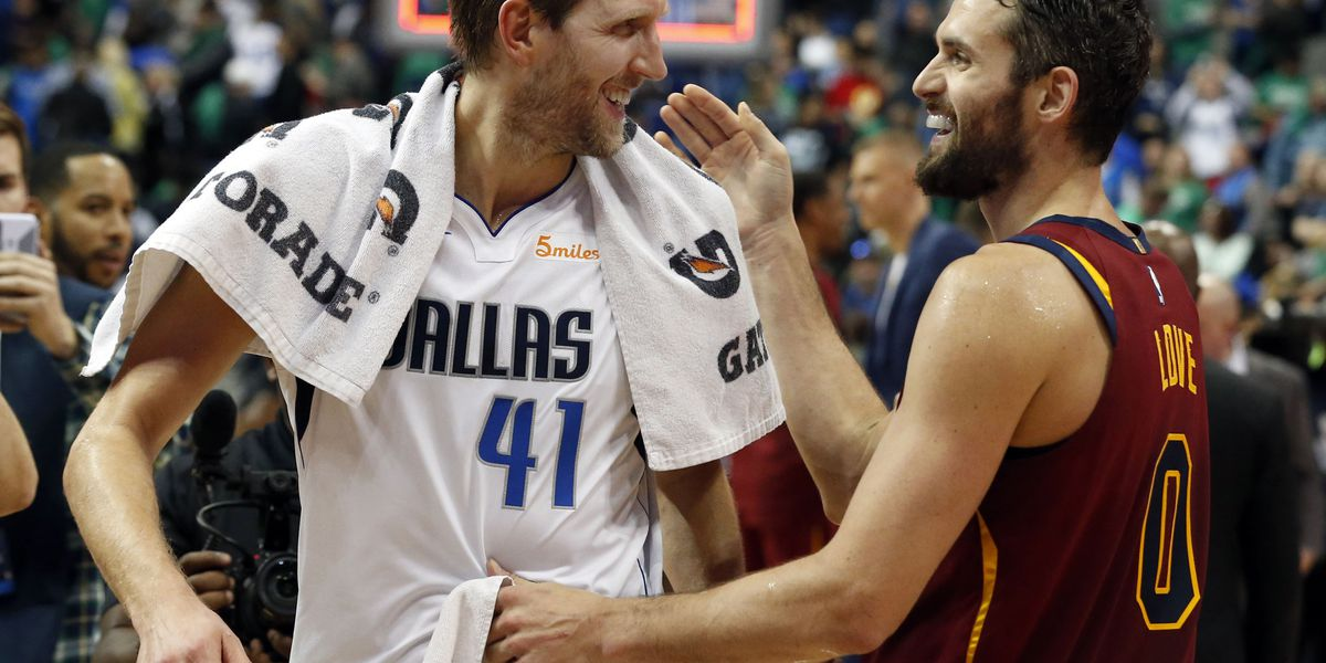 Mavericks top Cavaliers 121-116 as Dirk closes on Wilt