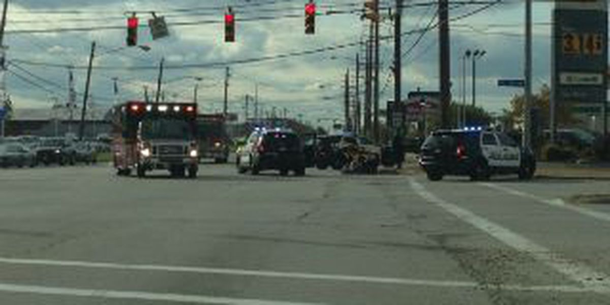 Bicyclist struck at Brook Park and W. 130th St.