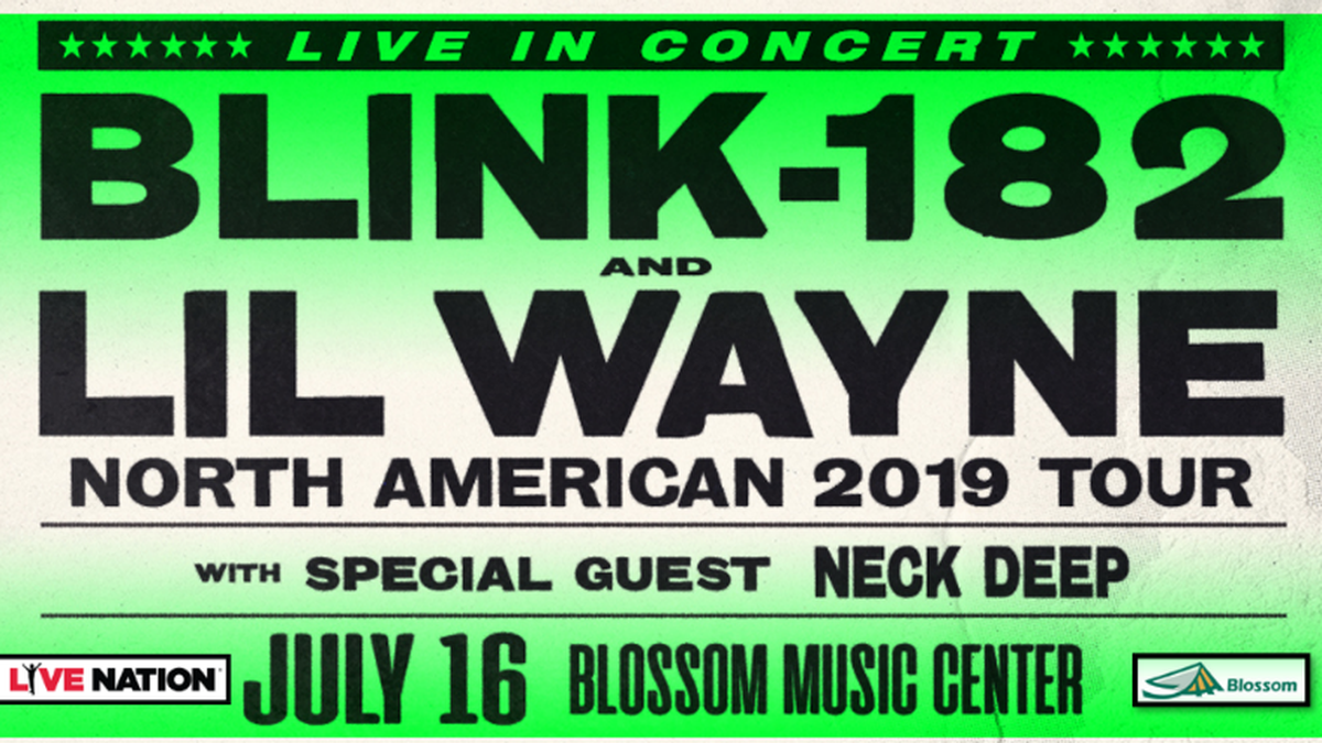 blink-182 & Lil Wayne ticket giveaway!