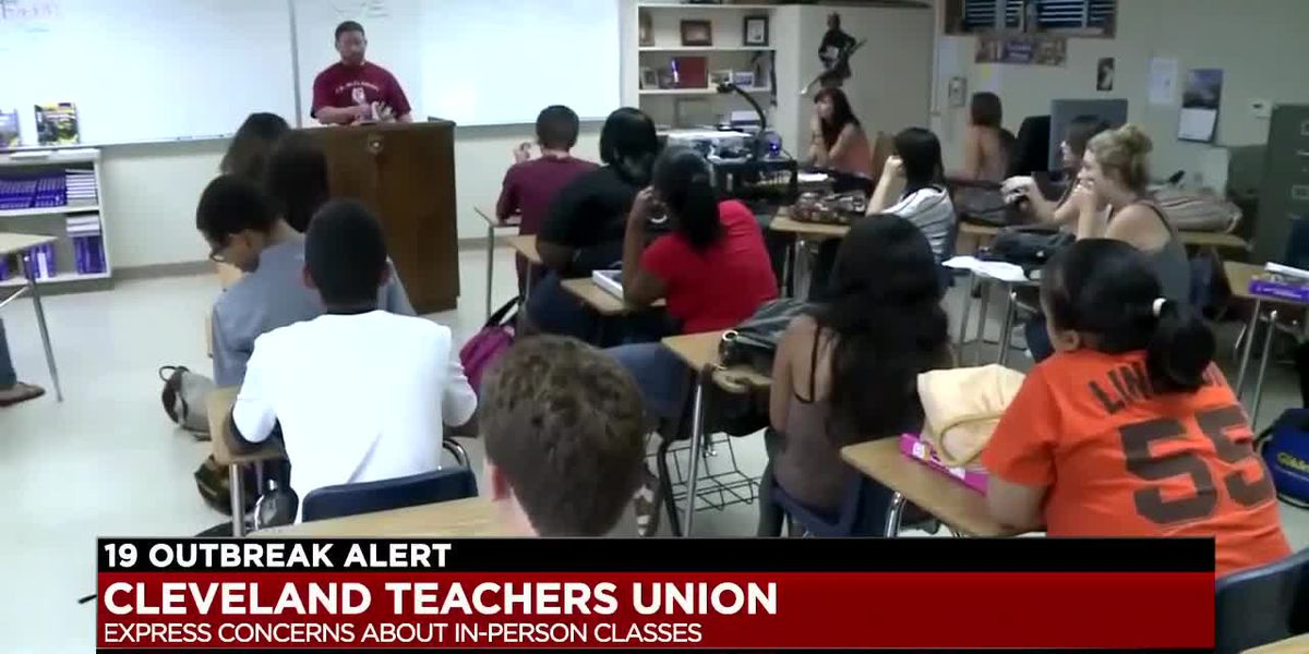 Cleveland Teachers Union express concerns over returning to in-person classes