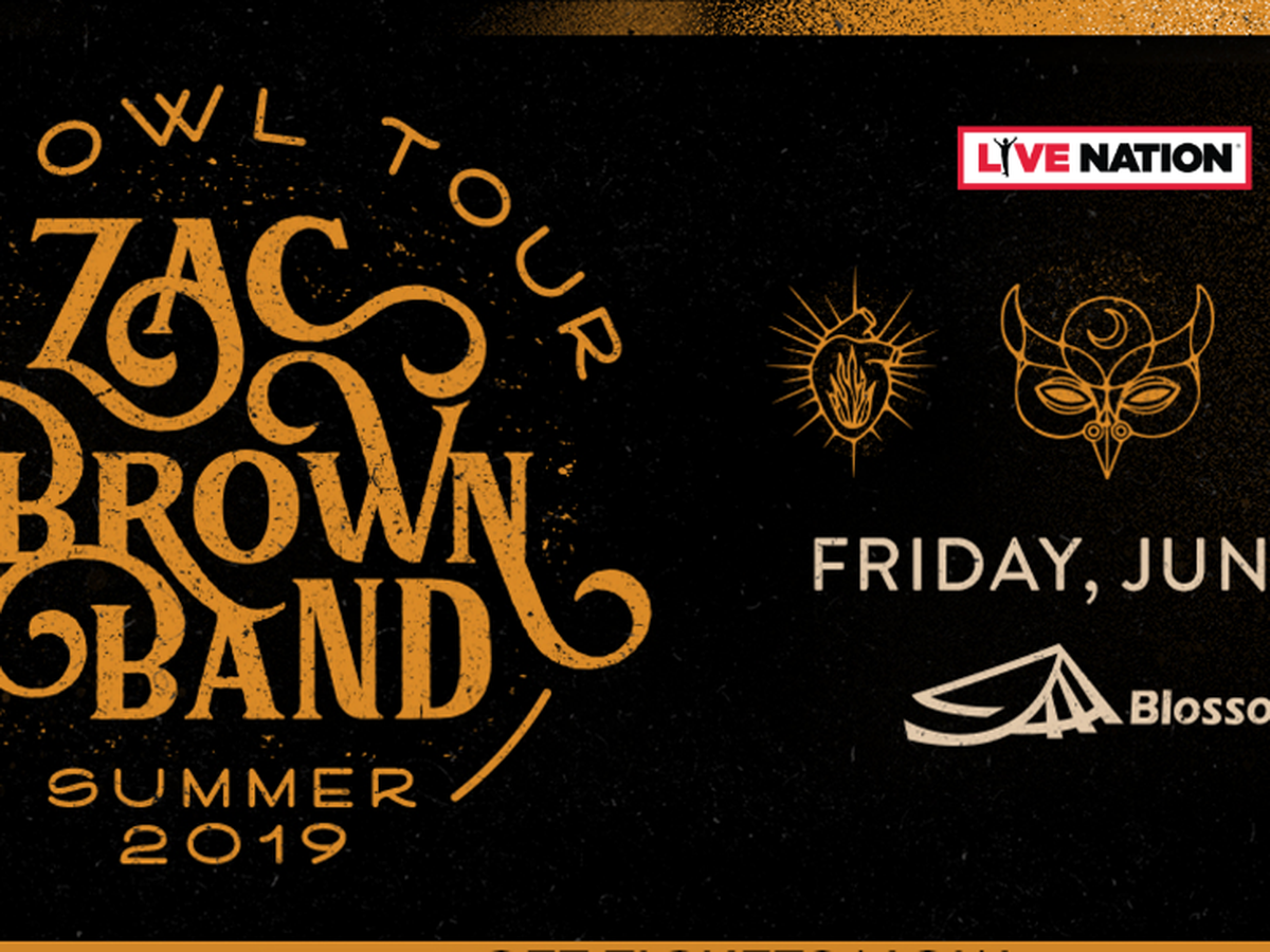 Register to win Zac Brown Band Tickets