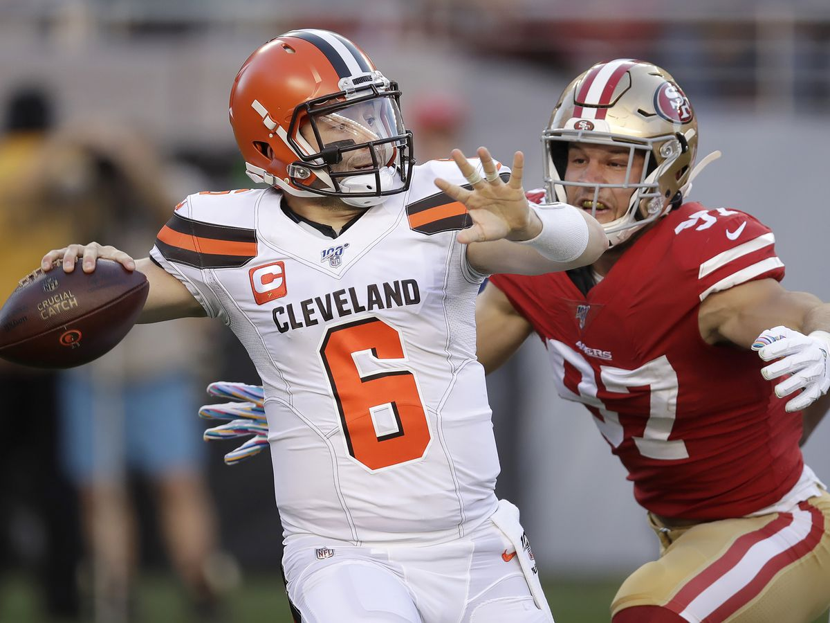 Cleveland Browns, after manhandling by 49ers, look to pick up the pieces (video)