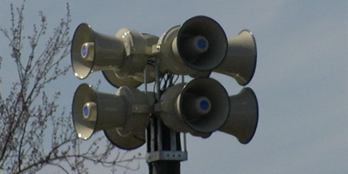 Hudson tests new tornado warning system