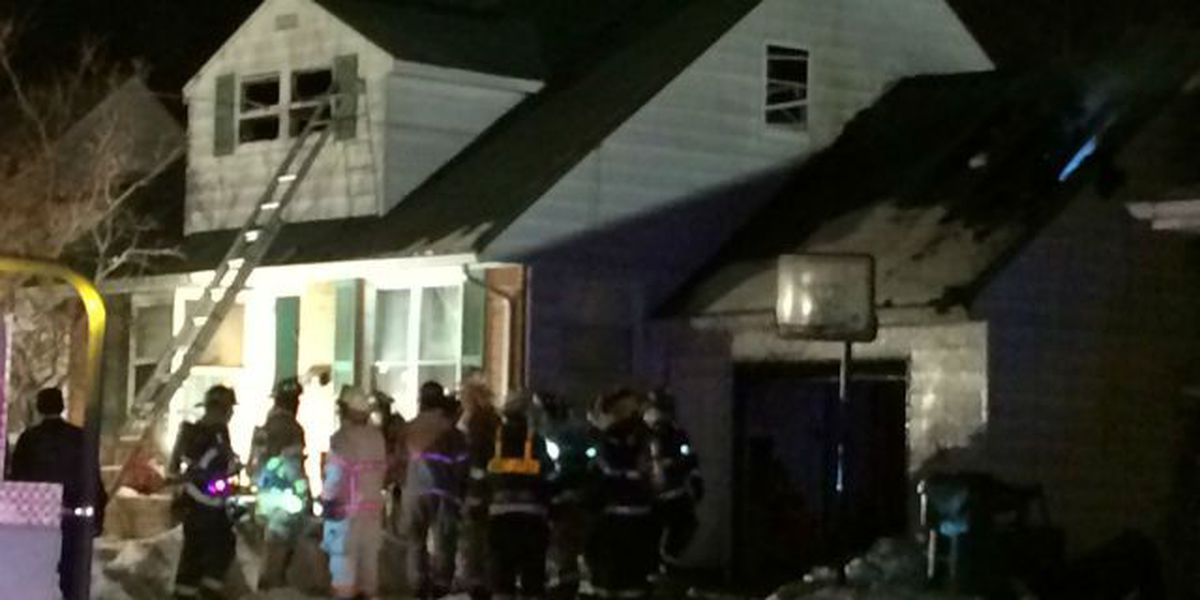 1 hospitalized, 6 displaced after Wickliffe house fire