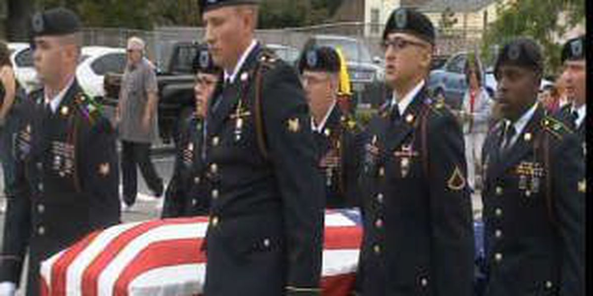 Final goodbyes for Army Specialist Angel Luis Lopez