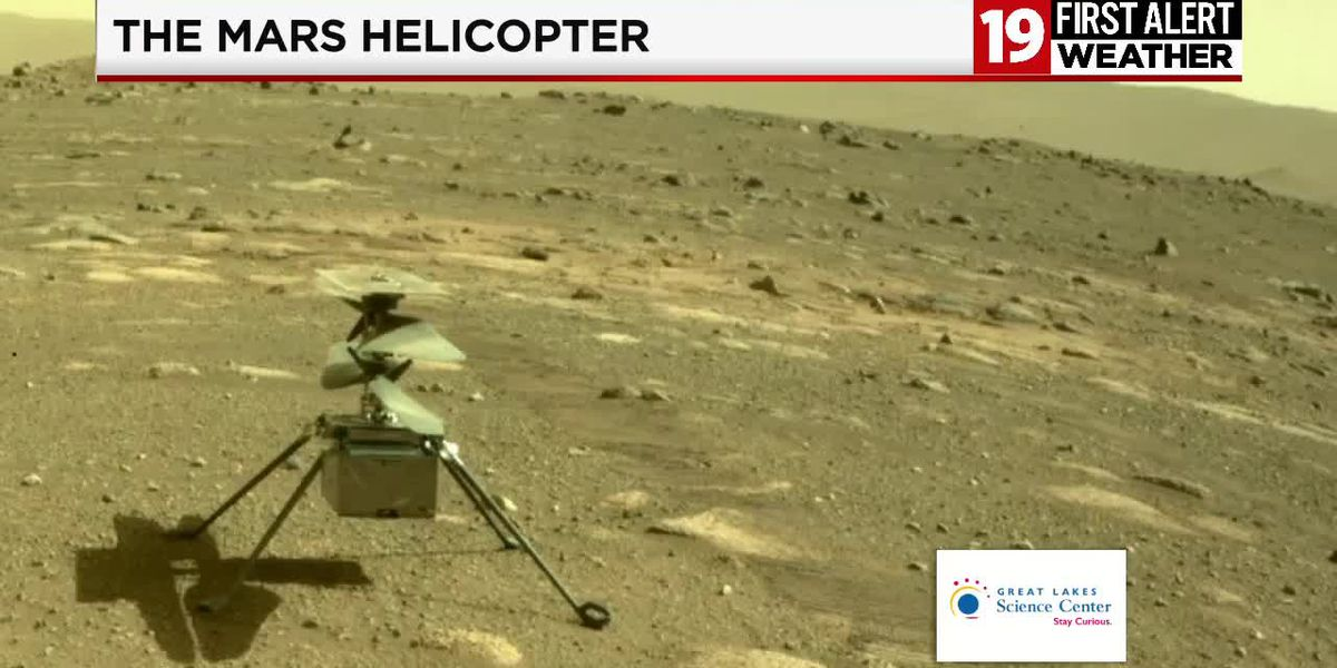 19 First Alert Science School:The Mars helicopter