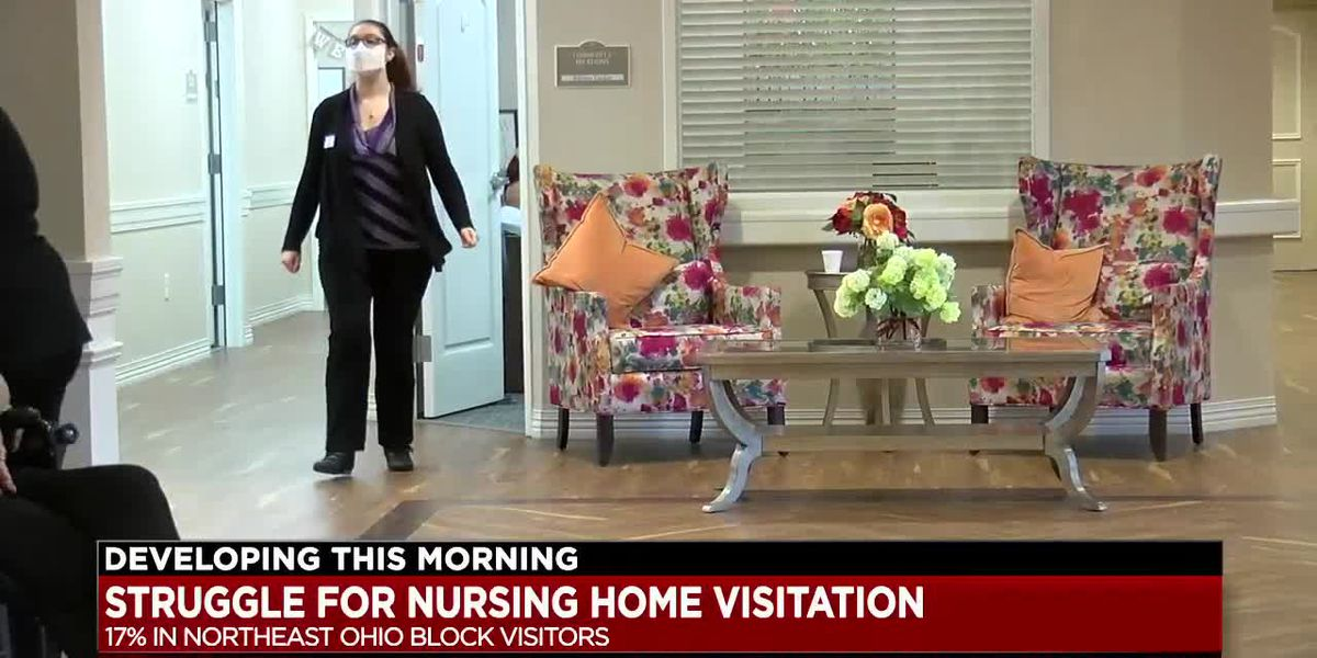 Many of Ohio's long-term care facilities still not allowing visitors due to COVID-19 concerns