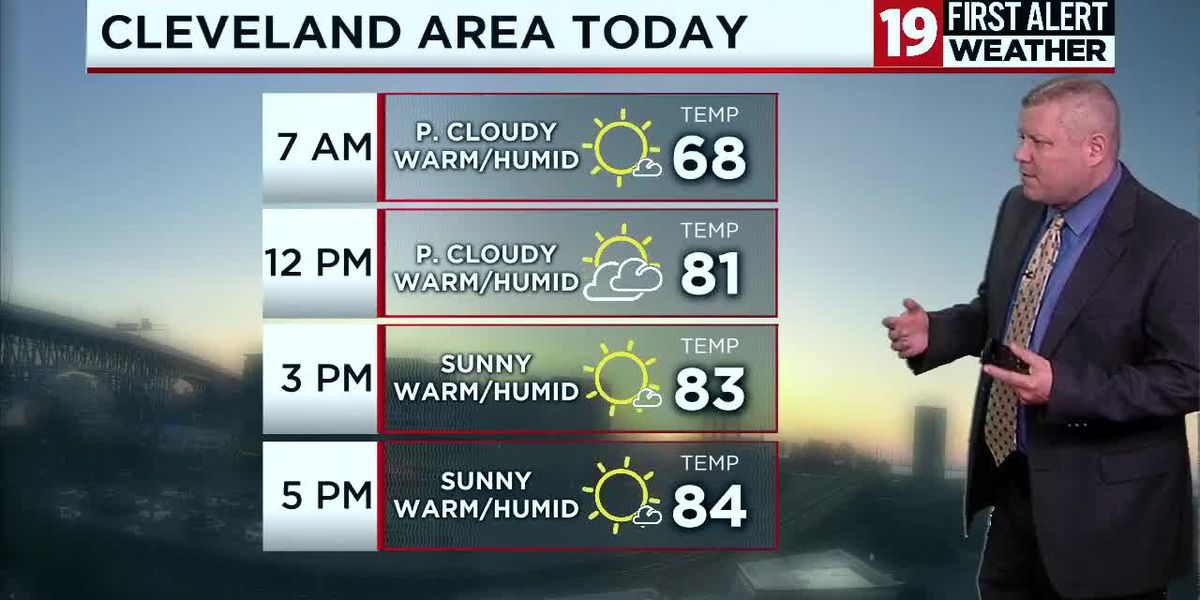 Northeast Ohio Weather: 80s today and humid