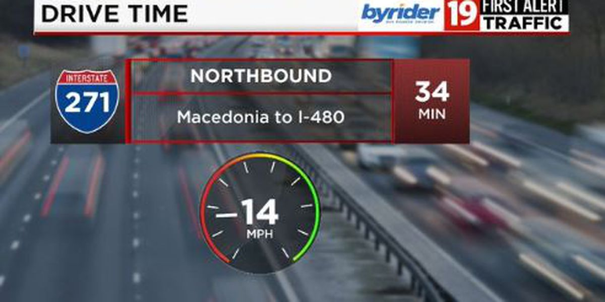 Commuter Cast: Stalled vehicle slows traffic to 6 mph on Eastbound Shoreway near Bratenahl Road