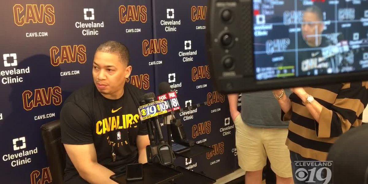 Cleveland Cavaliers fire head coach Tyronn Lue