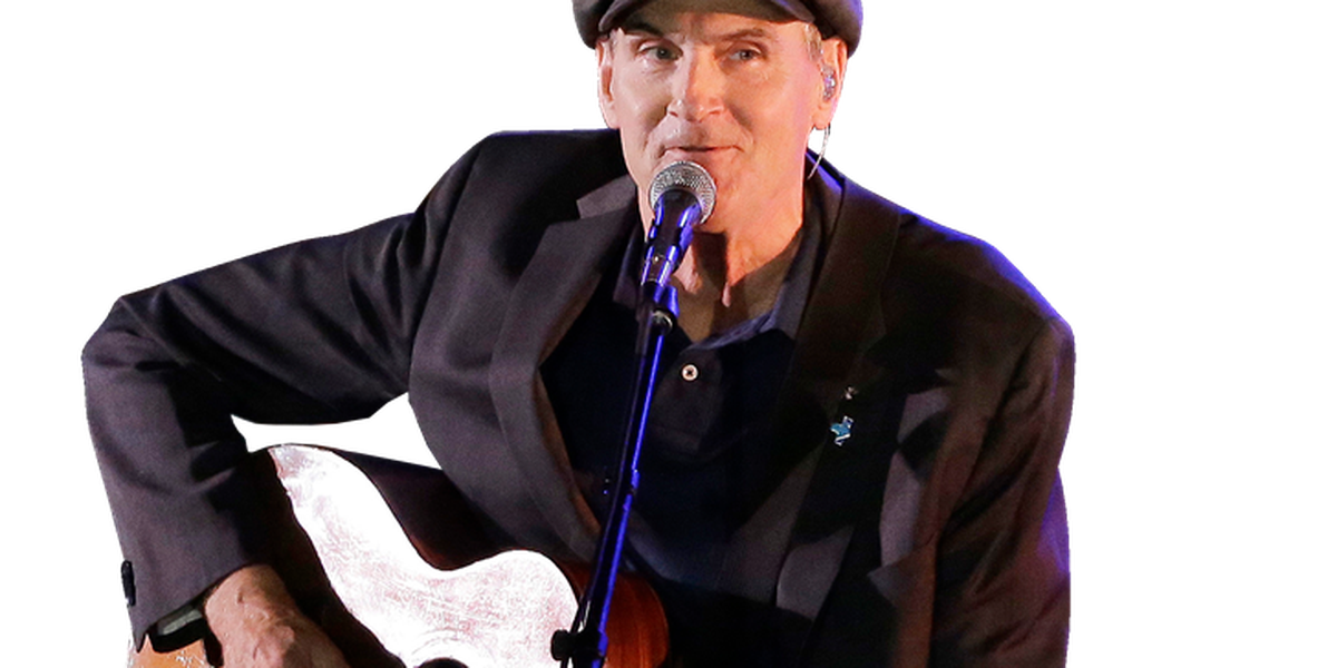 James Taylor will perform at Blossom in August