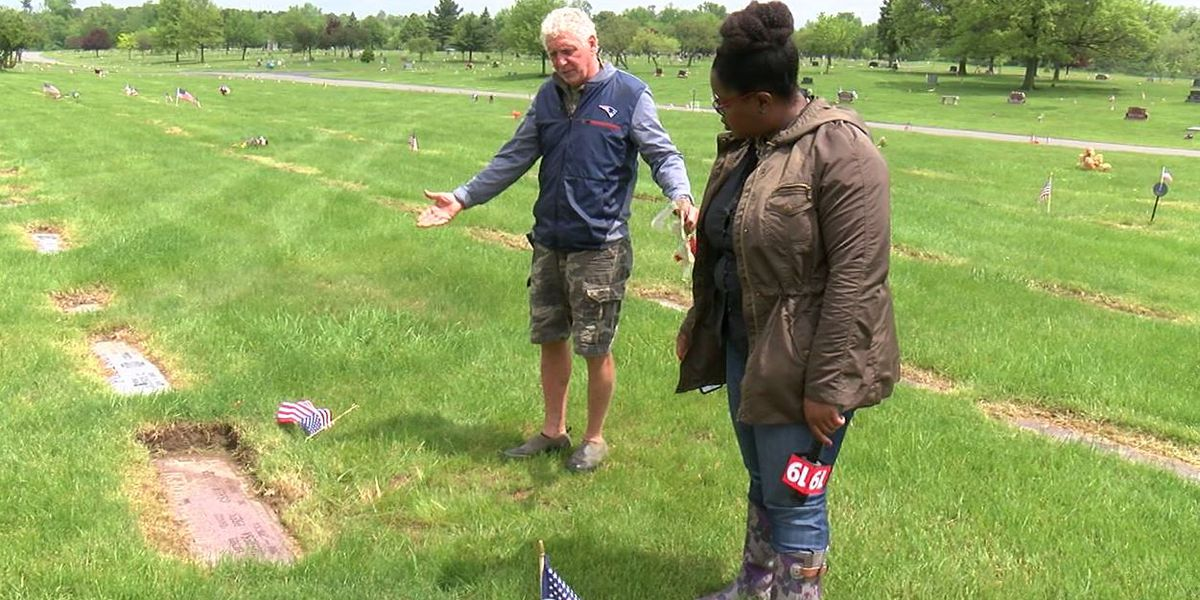 Geauga county man says All Souls Cemetery graves are a mess