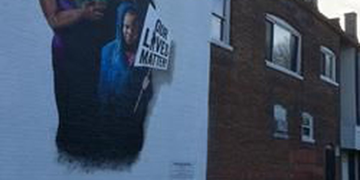 'Our lives matter' mural unveiled in Cleveland