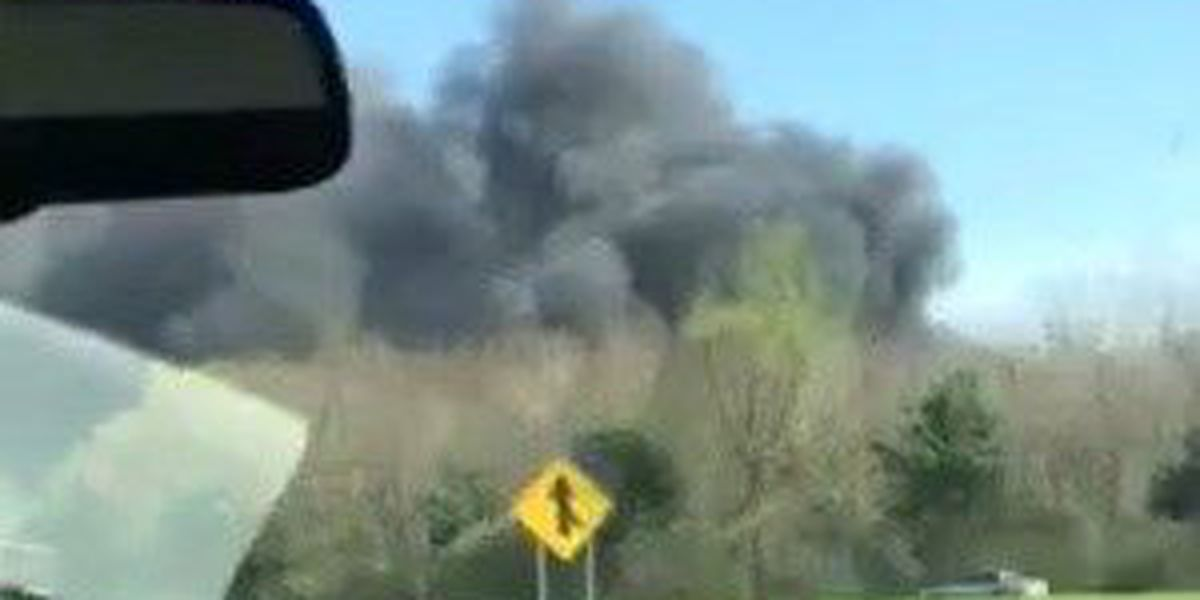 Mutual aid called to fight massive fire at towing company