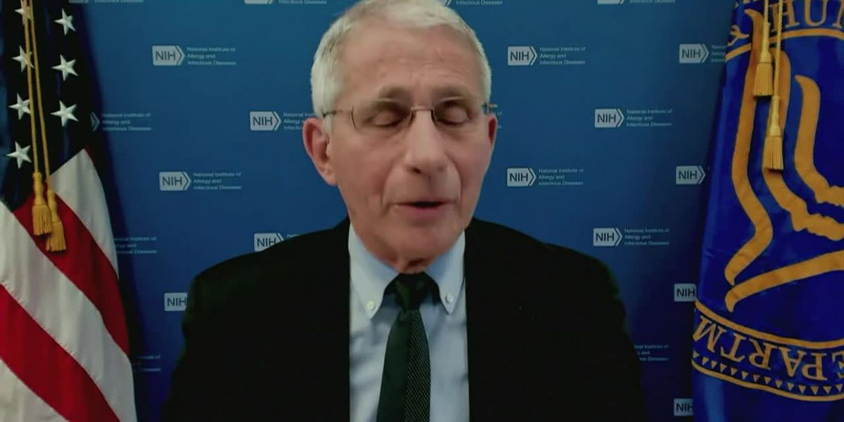 Fauci: Don't criticize people who still wear face masks