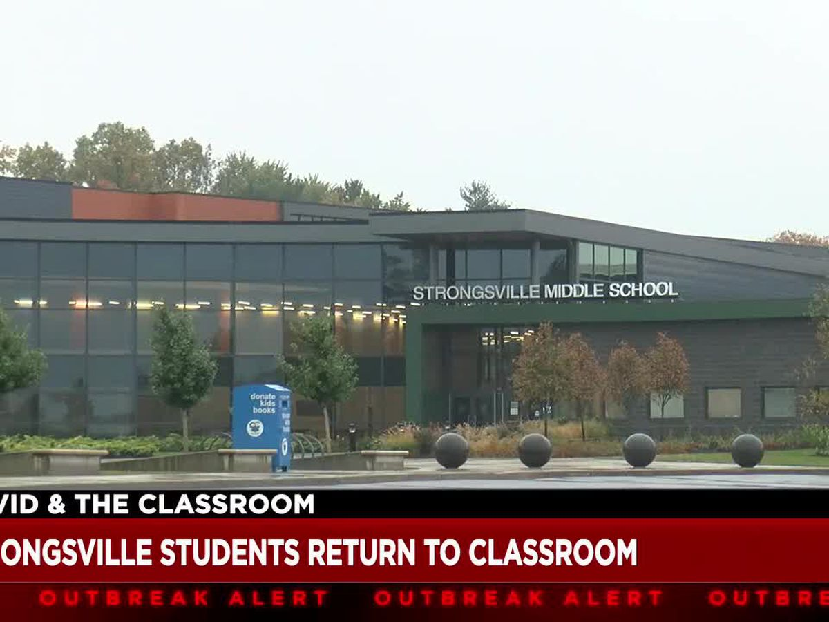 All Strongsville City Schools students return to in-person learning amid COVID-19 pandemic