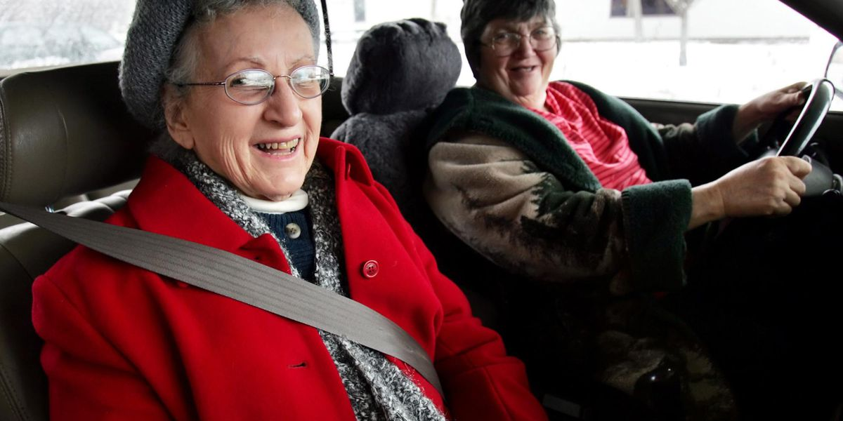 Sunny Side Up: Should there be an age restriction for elderly drivers?