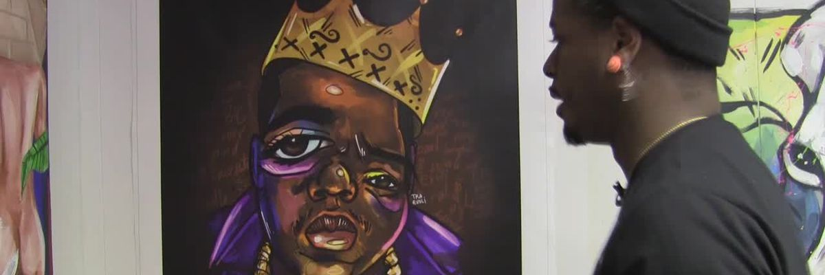 Cleveland artist uses pop culture to showcase changing faces of Black History