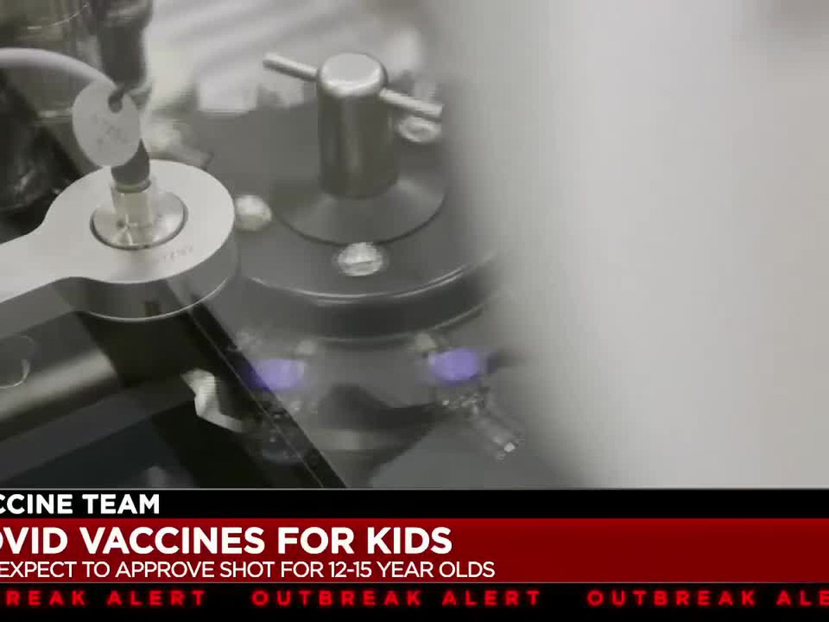 Children ages 12 to 15 years old wait for Pfizer to get COVID-19 vaccine approval from FDA