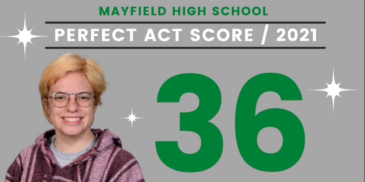 Mayfield High School junior gets perfect ACT score