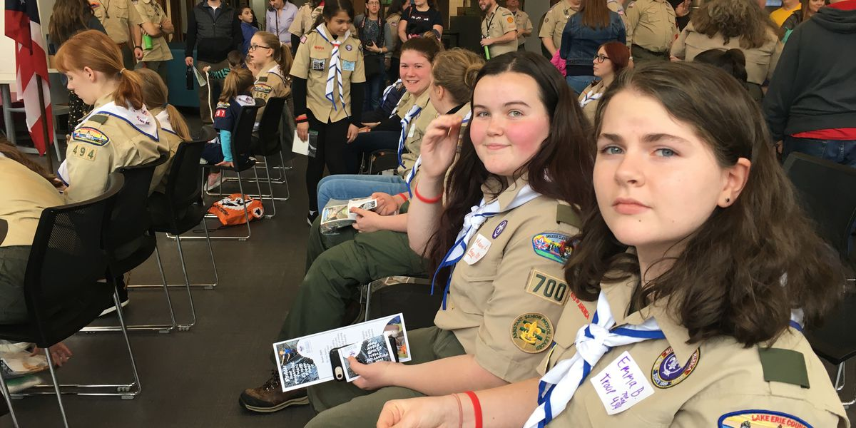 More than 100 local girls sworn in as Scouts BSA, formerly known as Boy Scouts