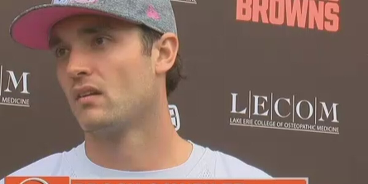 Report: Cleveland Browns QB Brock Osweiler not expected to play vs. Tampa Bay