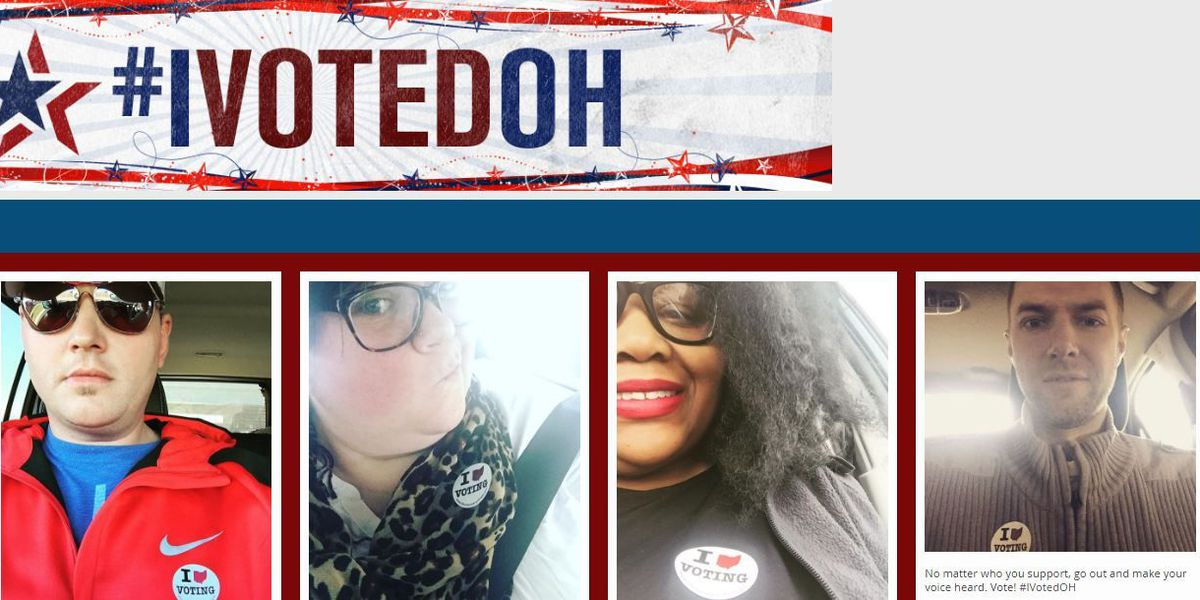 Civic brag: Share your 'I voted' sticker selfies -- Ohio votes 2016