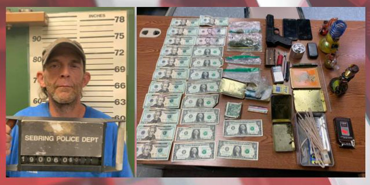 Sebring man arrested after drugs, explosives found in home