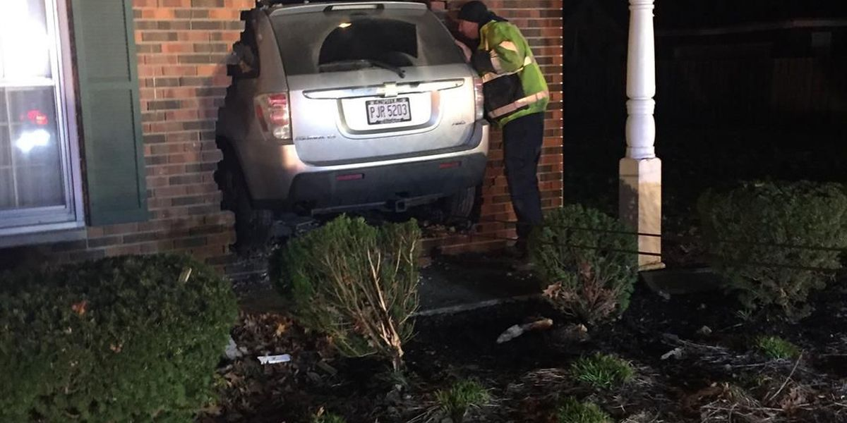 Fairview Park police find driver who crashed into home