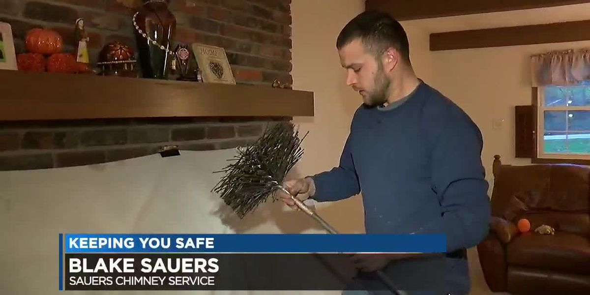 Lighting up the fireplace? First make sure it's safe and clean