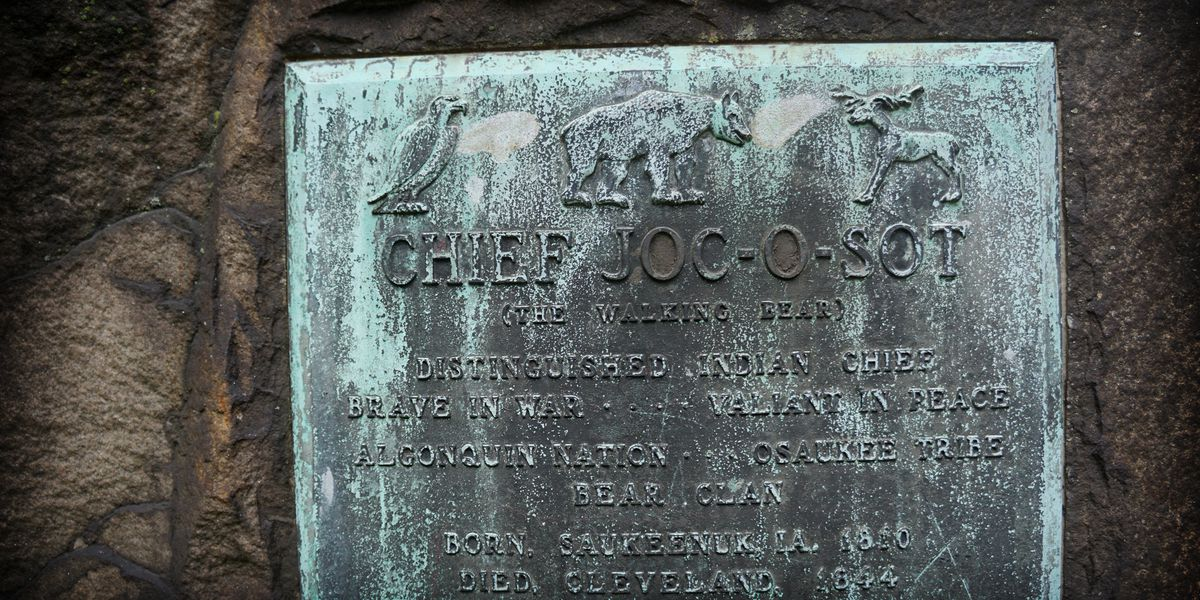 He wanted to go home in 1844, he died in Cleveland