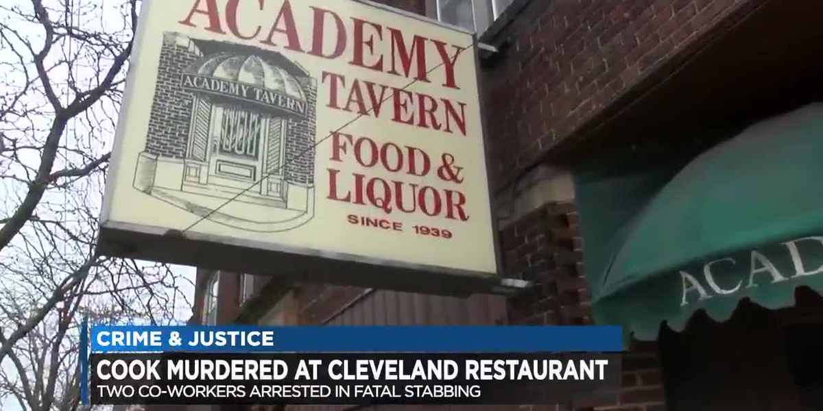 2 co-workers arrested after fight turns deadly at Cleveland tavern