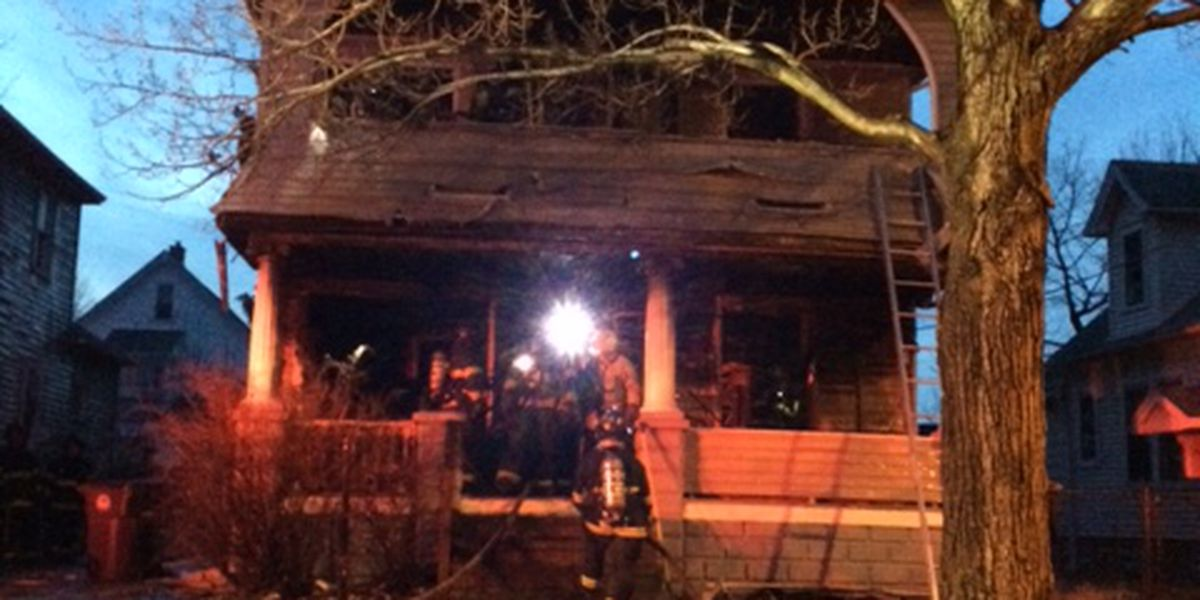 Cleveland family home ravaged by fire