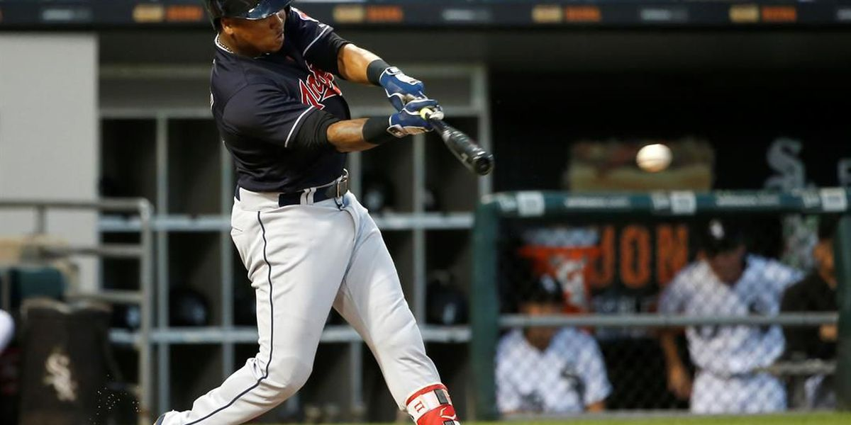 Jose Ramirez back in the line up with the Cleveland Indians