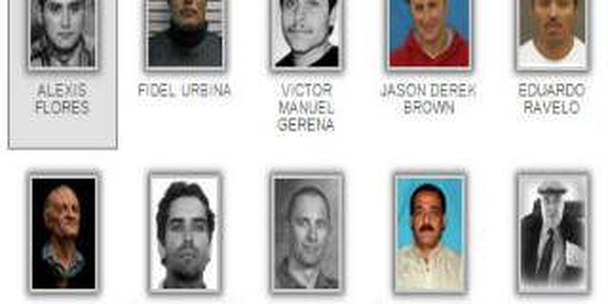 """65th Anniversary of the FBIs """"Ten Most Wanted Fugitives"""" program"""