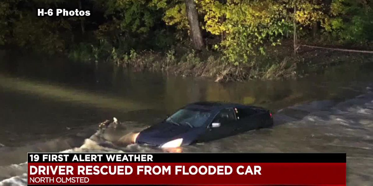 Flash flood warnings, roads closed as heavy storms roll through Cuyahoga County