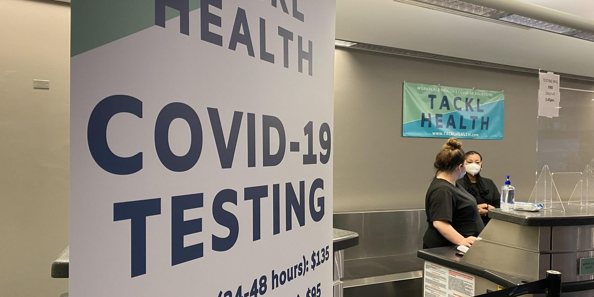 Cleveland Hopkins International Airport latest location for COVID-19 testing