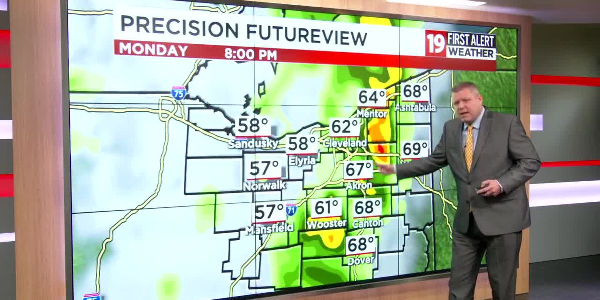 19 FIRST ALERT WEATHER DAY: Storms move through this evening, some strong