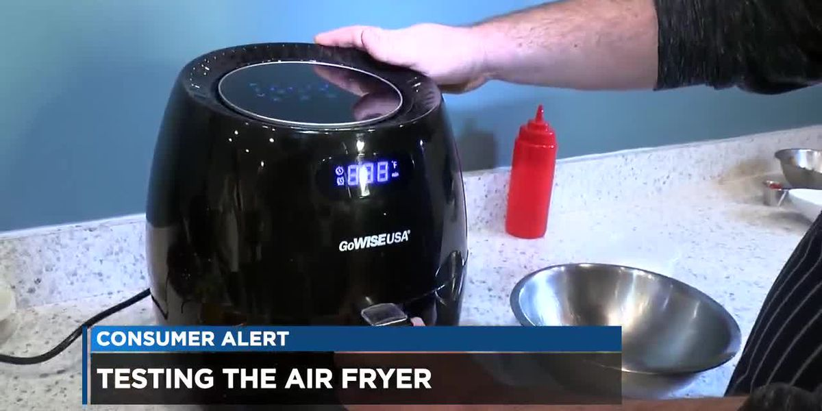 GoWISE Air Fryer serves up crispy plates big and small, but won't replace your deep fryer