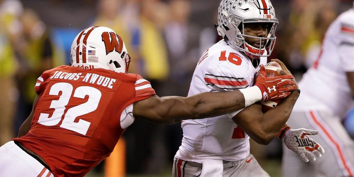 Ohio State runs for 238 yards, OSU defeats Wisconsin in Big Ten Championship