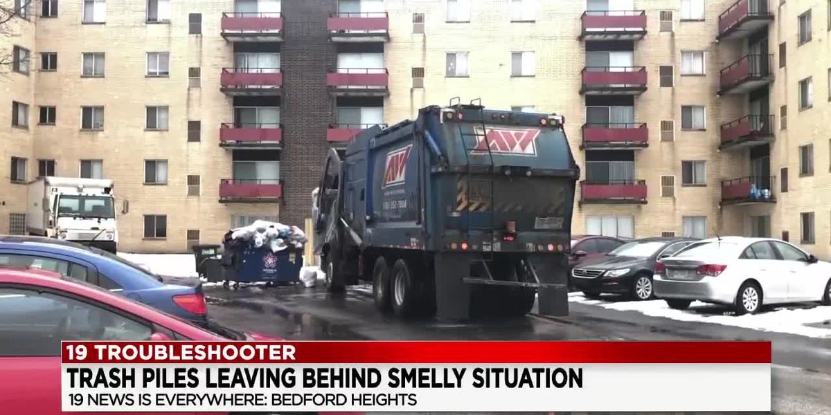 Tenants speak out over trash thrown about Bedford Heights apartment complex