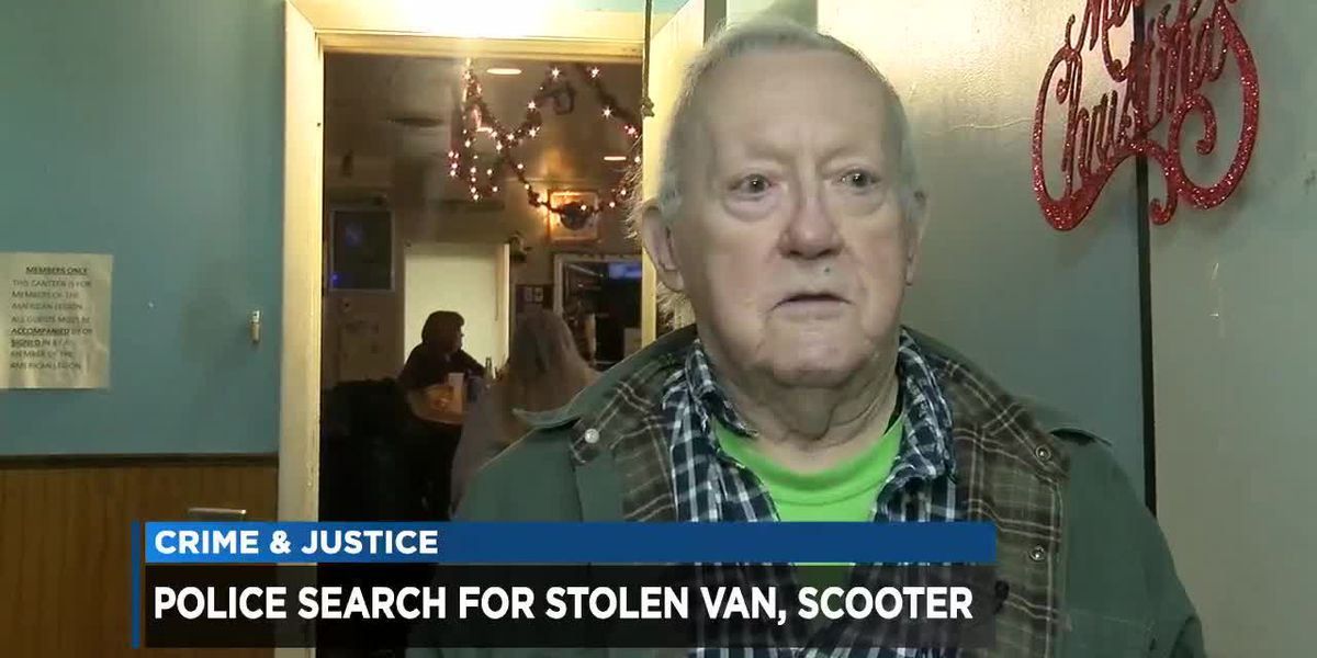 Disabled Korean War vet's van stolen from Cleveland American Legion Hall