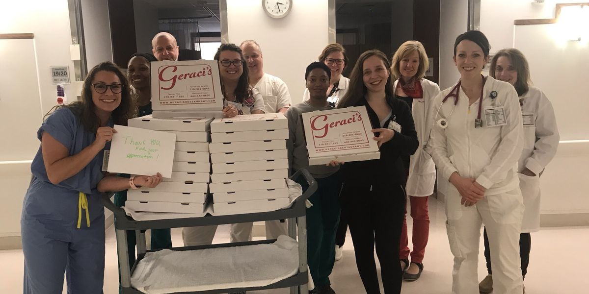 Match, Batch, and Dispatch: Geraci's helping healthcare workers with pizza during coronavirus crisis
