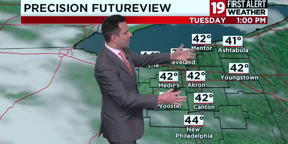Northeast Ohio weather: Tracking a dry Tuesday