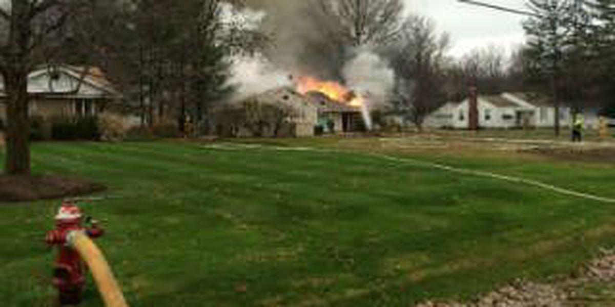 One firefighter injured battling Richmond Heights house fire