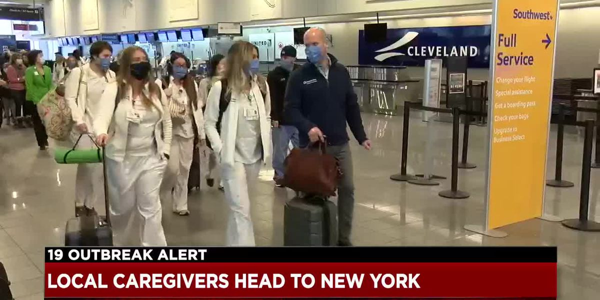 Cleveland Clinic doctors and nurses will spend weeks at NYC hospital helping with COVID-19 crisis