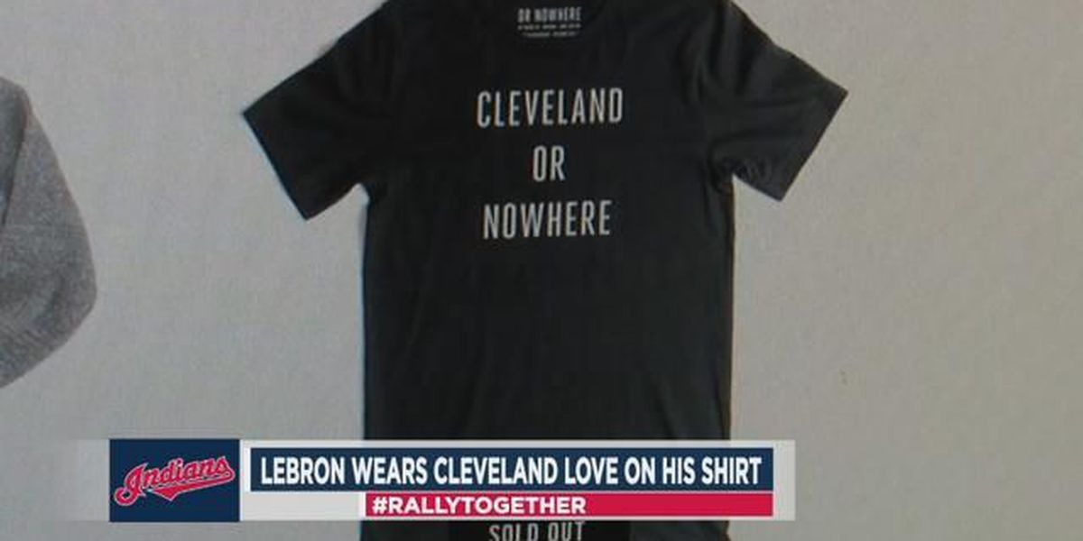LeBron James t-shirt: Cleveland or Nowhere